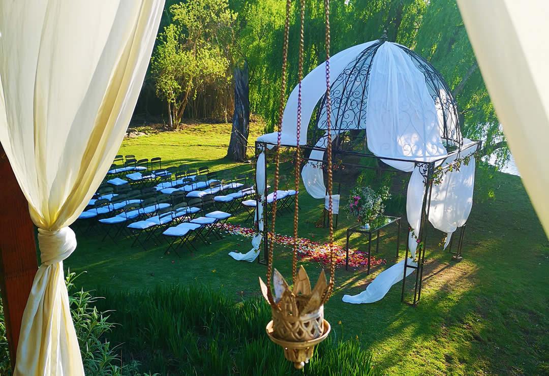 Wedding Venue Pretoria Ceremony View From Deck