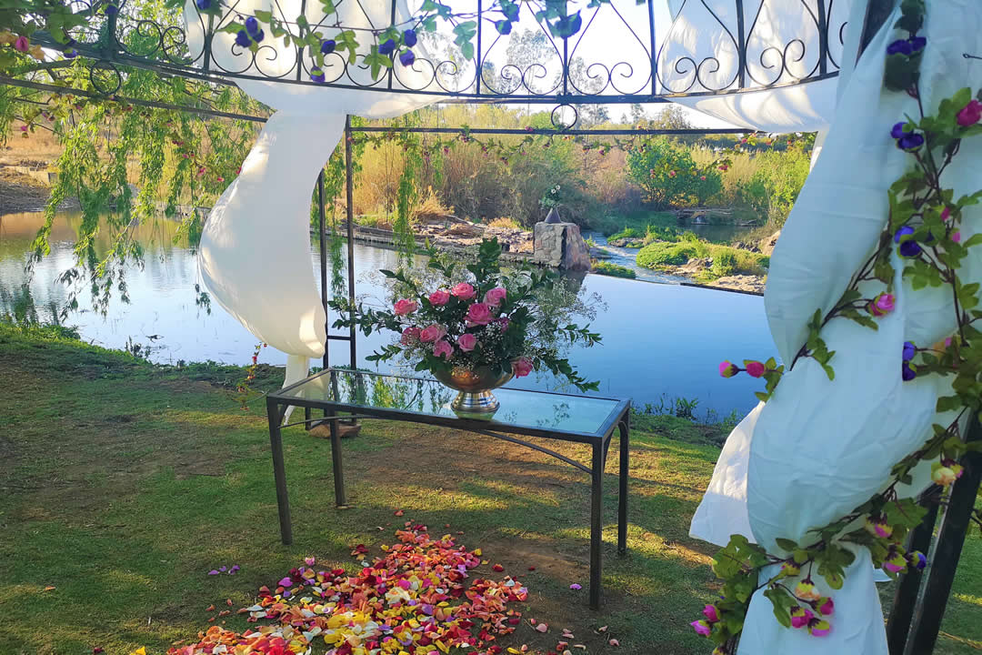 Wedding Venue Pretoria View Of River After Waterfall