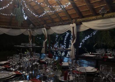 Lethabo Estate Evening Wedding Ceremony