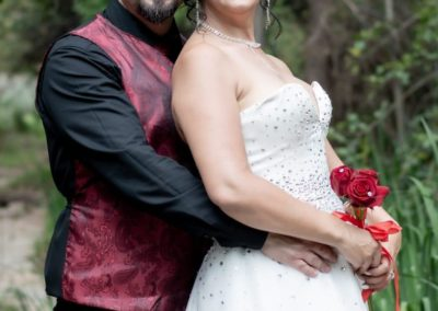 Wedding Lethabo Estate Couple Close Up