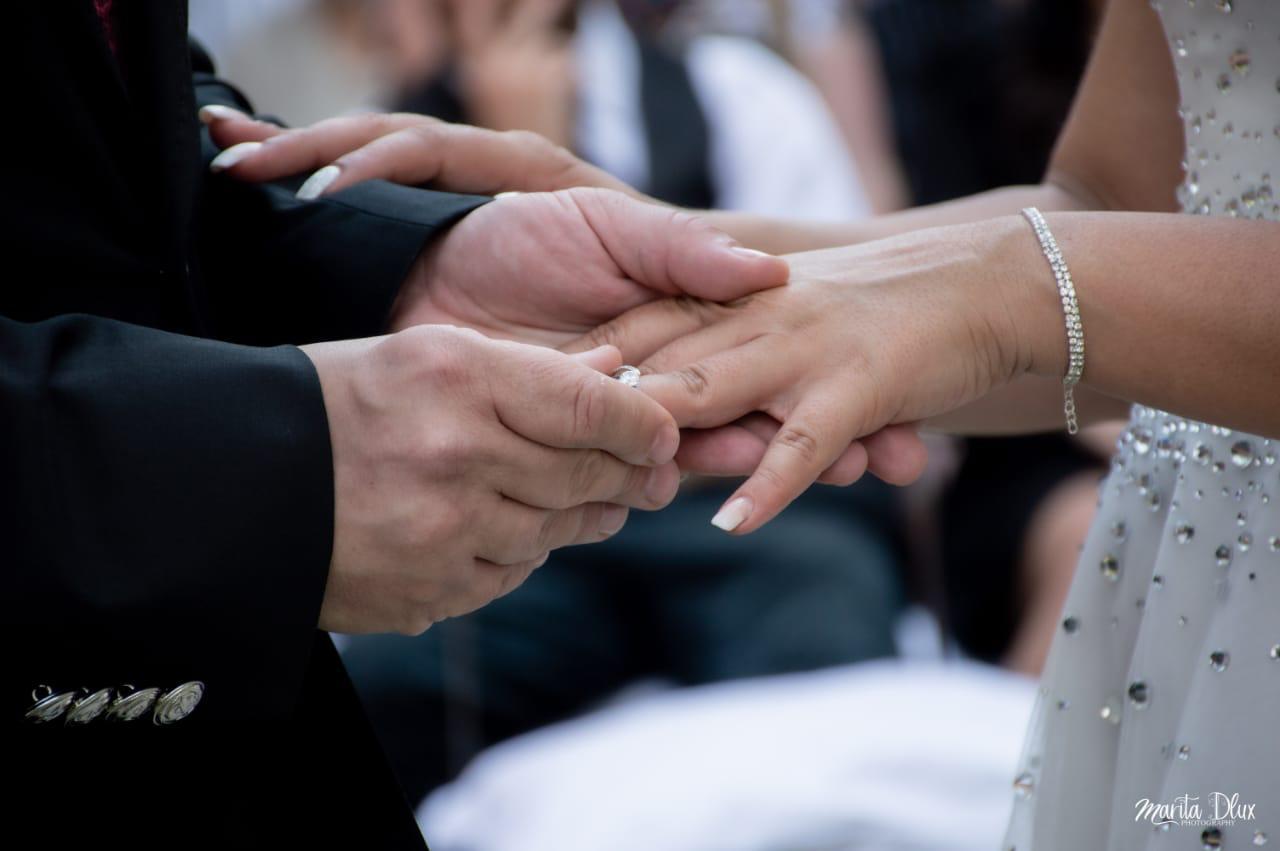 Wedding Lethabo Estate Ring Exchange