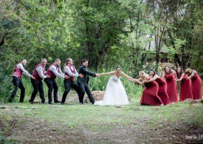 Wedding Lethabo Estate Tug of War